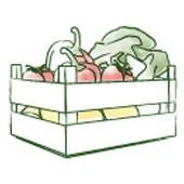Gemüsekiste, für gesunde Gerichte (für den Kochtopf)